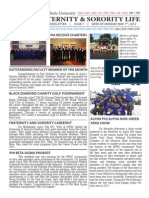 Missouri State Fraternity and Sorority Life Newsletter - Issue 7