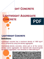 Lightweight Concrete.