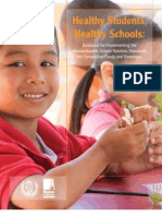 Guidelines for Implementing the Massachusetts School Nutrition Standards