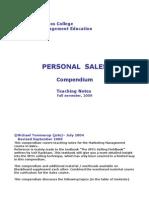 Sales Compendium