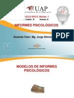 Modelos de Informes Psicológicos