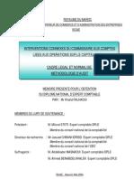 61- Interventions connexes du Commissaire aux Comptes liées aux opérations sur le capital socialcadre l