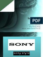 Sony Style Presentation