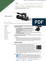 JVC Professional Technical Description Page
