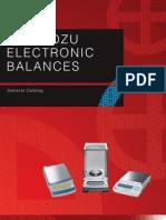 Shimadzu Balance Gen Catalog