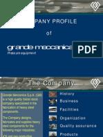 Company Profile Grande Meccanica