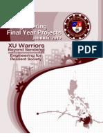 FYP Journal 2012