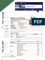 Tech Info- Abbaye Aux Hommes _ Structurae
