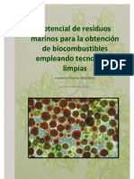 Potencial de Microalgas Para Bio Combustibles