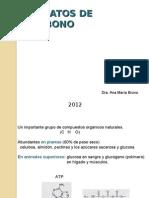 HIDRATOS DE CARBONO 2012 (1)