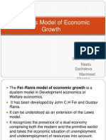 Fei-Ranis Model of Economic Growth