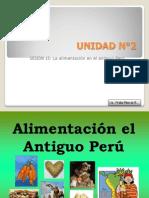 15.- La Comida en el Antiguo Perú