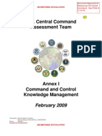 US CENTCOM Assessment