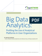 AST-0060878 Wayne Eckerson Research Report Big Data Analytics Final