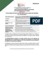 Prospecto de Oferta Pública de Obligaciones al Portador - Fonden