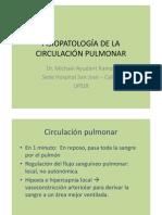 FISIOPATOLOGÍA DE LA CIRCULACIÓN PULMONAR