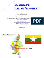 Industrial Development in Myanmar 1