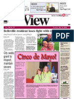 Belleville View front page May 10