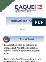 Postal Service's POStPlan