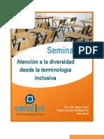 Seminario ADTI 2012