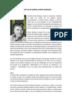 Narrativa de Gabriel Garcia Marquez y Jose de La Cuadra