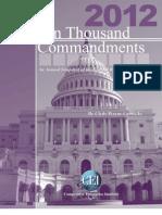 Wayne Crews - 10,000 Commandments 2012