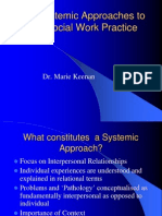2011 Lecture 1 and 2 Introduction to Systemic Approaches and Structural Family Therapy
