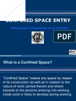 Confined Space Entry - Training Presentation