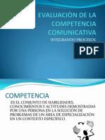 Evaluacion de La cia Comunicativa