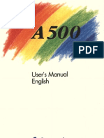 Amiga 500 User's Manual