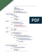 Main Loop Pseudo-Code
