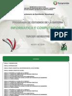 INFORMÁTICA Y COMPUTACIÓN III