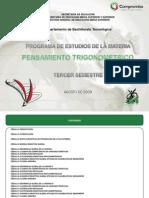PENSAMIENTO TRIGONOMETRICO