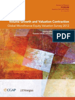 Volume Growth and Valuation Contraction