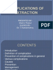 Complications of Extraction