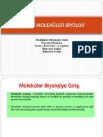 Bio105 Molekuler Biyoloji-Ders1
