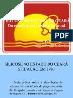 SILICOSE NO CEARÁ - XXXIII CBPT