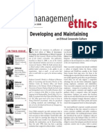 Ethics on the Top Management