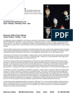 Jackie Hurlbert - Press Release - 26 May - 7 July 2012
