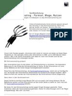 Onlinemarketing - Formen, Wege, Nutzen
