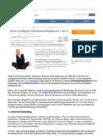 Onlinemarketing Überblick