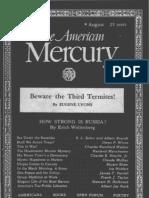 American Mercury August 1939