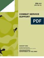 FM 4-0 Combat Service Support