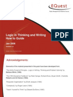 Logic in Thinking and Writing How to Guide 1224360227640851 9