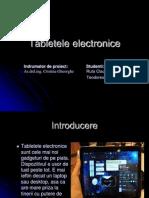 Tabletele electronice