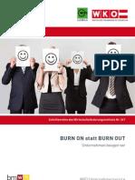 Burn on Statt Burn Out