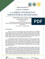 Seminar & Workshop Universal Coverage dan Struktur Biaya Rumah Sakit 19-20 Juni 2012