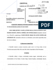 Civil Lawsuit against Aftermath Inc. Cleaning Crew
