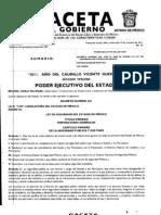Gaceta de Gobierno-LEY DE SEGURIDAD DEL ESTADO DE MÉXICO