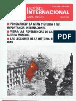 Revista Internacional. Nuestra Epoca N°5. Edición Chilena. Mayo 1985